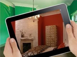 iPad Augmented Interior Design