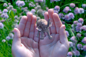 Magic Leap's home page animation.