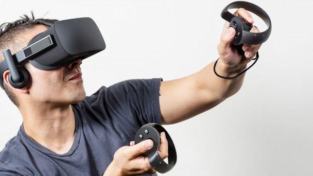 Oculus Rift CV1 with the Oculus Touch Controller