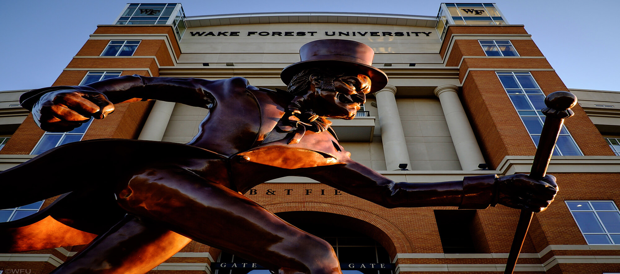 3D Tour of The Wake Forest BB&T Football Stadium, Field House, and the Exclusive Deacon Tower