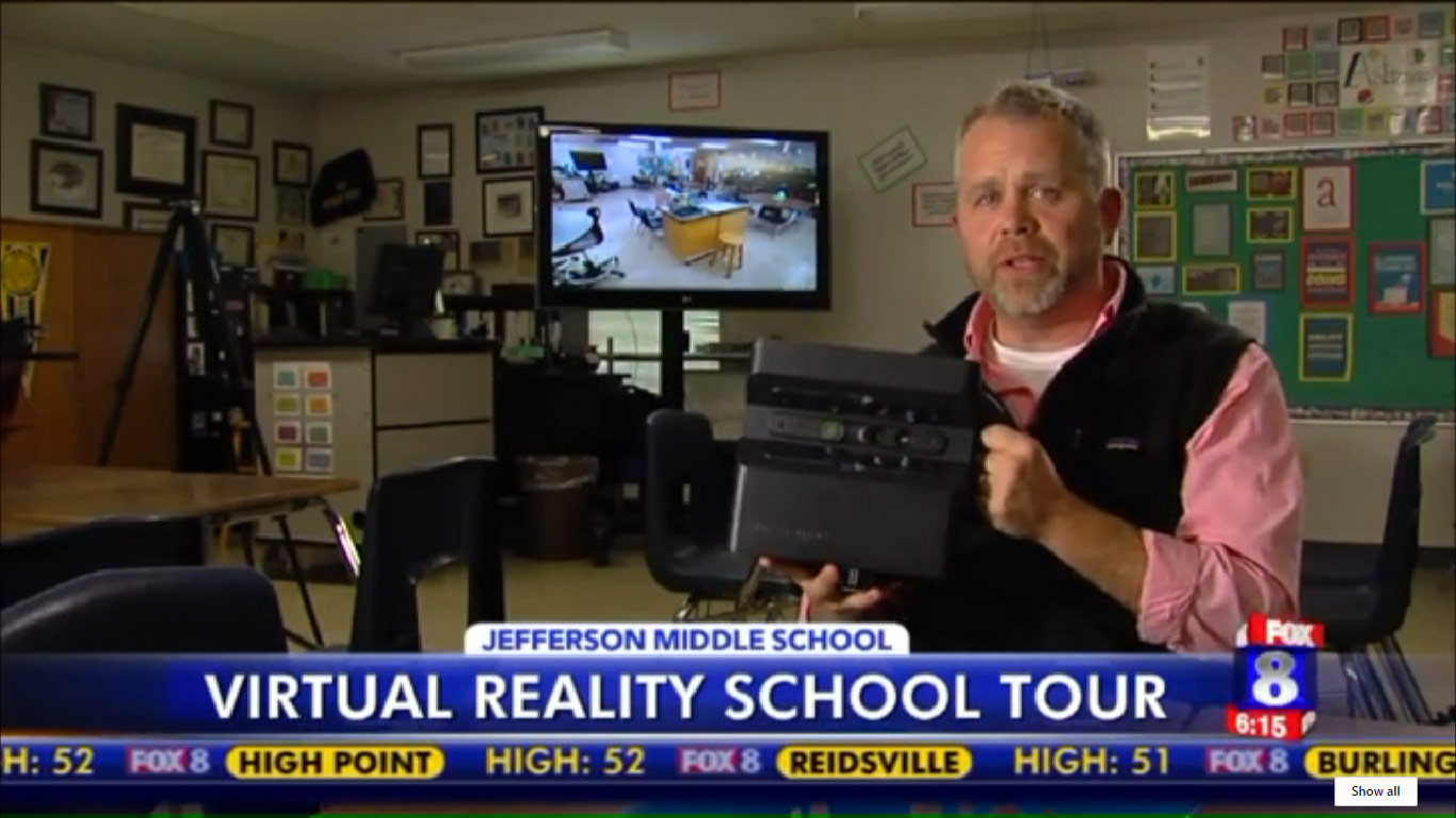 Looking Glass Featured on FOX News: Jefferson Middle School Gets into Virtual Reality