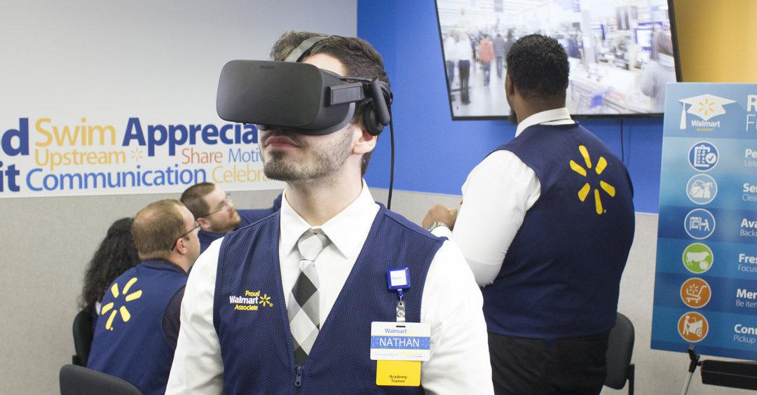 Walmart using Virtual Reality for On the Job Training