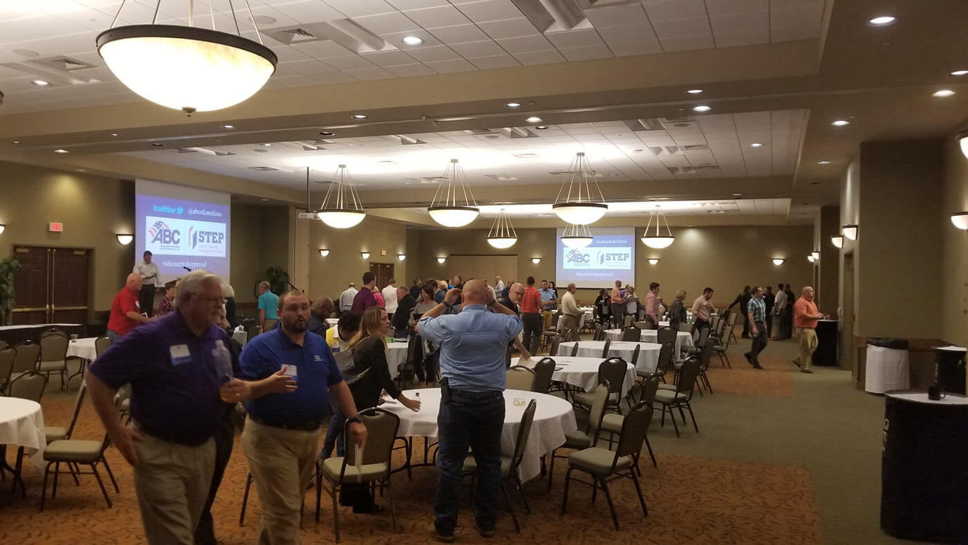 The 2017 ABC Carolinas Construction Safety and HR Conference Looking Glass Services Awards Ceremony